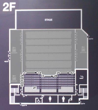 ○2F Zepp DiverCity 5f