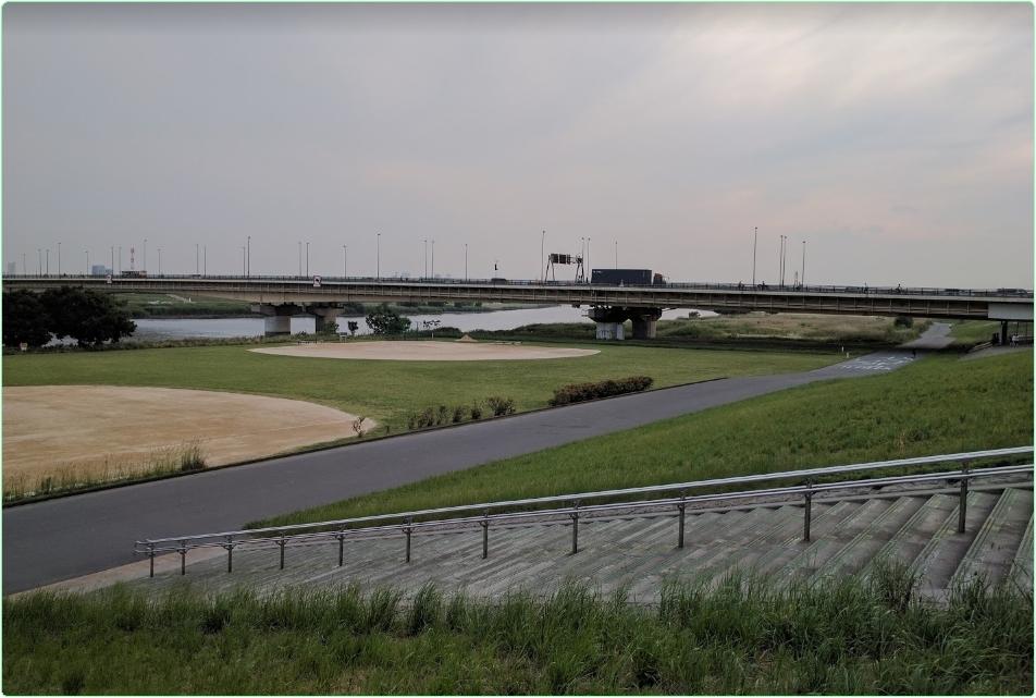 ○荒川千住新橋緑地