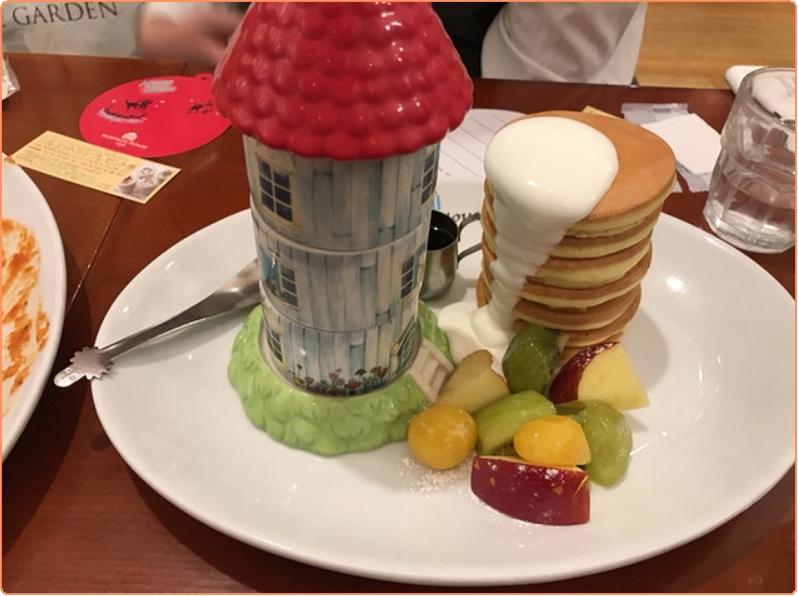 ○ムーミンハウスパンケーキ